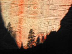Tree Shadows (cormend) Tags: trees light red nature rock canon landscape dawn utah nationalpark triangle shadows desert ps canyon powershot frame pointandshoot g2 zion magichour cormend