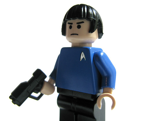 Spock (Star Trek) custom minifig