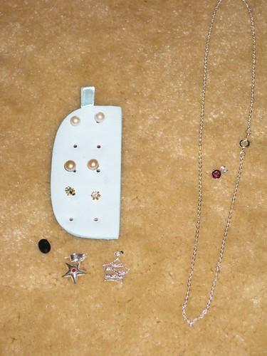 Freebie jewelry from St. Thomas