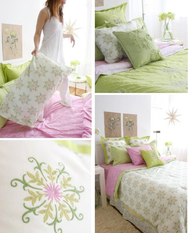 Amy Butler Eco Bedding for Welspun