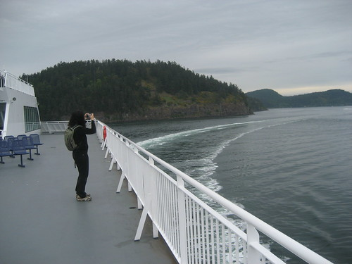 On BC Ferry heading to Victoria, Vancouver Island