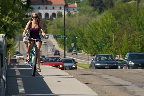 Day 143 - Girl on Bike