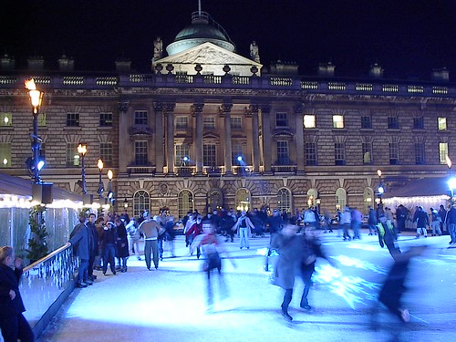 Top Ten Ice Skating Rinks in London and across the UK