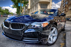 BMW Z4 sDrive 23i, HDR (marcp_dmoz) Tags: madrid auto espaa black car canon reflections eos spain map negro coche bmw z4 2009 tone schwarz hdr spanien reflejos wagen spiegelungen pkw 50d 23i noregistration sdrive sinmatrcula