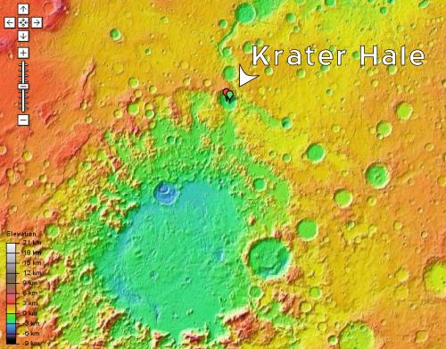 Mapa Marsa