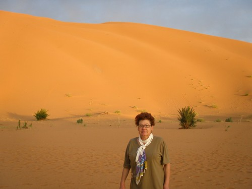 La Toni al desert del Sahara