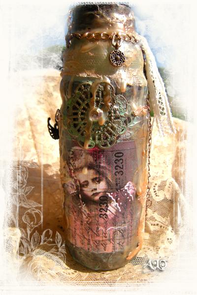 bouteille d'art