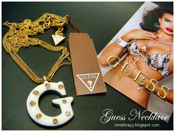 Myer: Guess Necklace