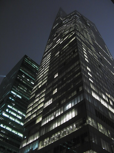 Skyscraper by night
