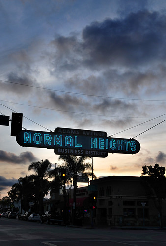 Normal Heights, San Diego, California