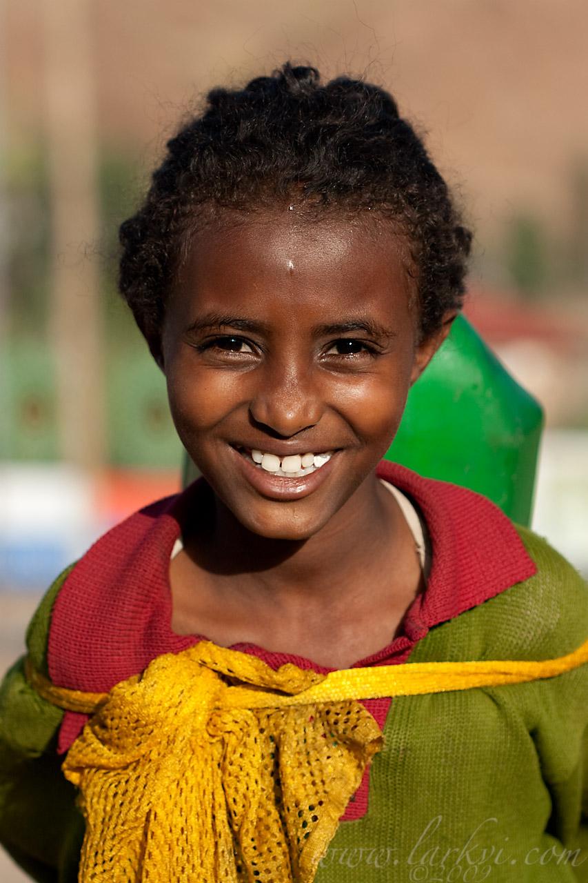 Water-bearer #1, Axum, Tigray, Ethiopia, April 2009