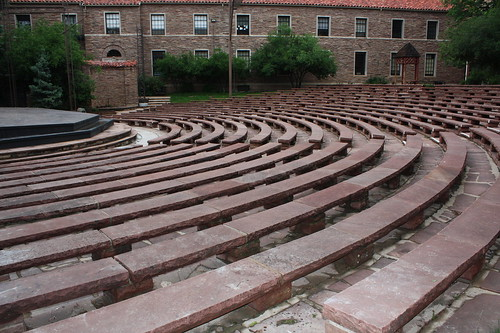 Amphitheatre at the University of Colorado