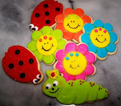 spring/summer cookies