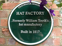 Photo of William Tooth green plaque