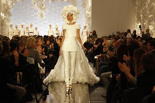 Celebs at Chanel fashion show during Paris Fashion Week