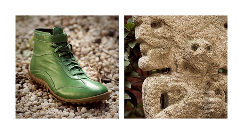 Shoe diptych