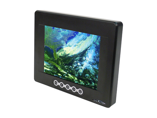 "8.4"" Waterproof LCD Monitor - Front View by stealth.com"