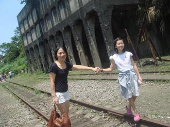 你拍攝的 鐵路。