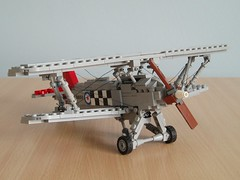 Hawker Fury (Mad physicist) Tags: thirties fighter lego aircraft military british fury raf hawker biplane 136