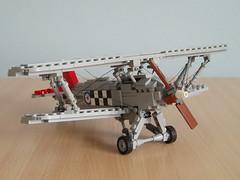Hawker Fury (Mad physicist) Tags: thirties fighter lego aircraft military british fury raf hawker biplane 136