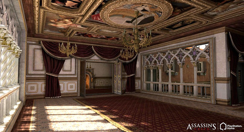 Assassin's Creed II Personal Space (Apartment) in PlayStation Home