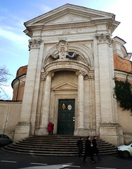 Sant'Andrea al Quirinale Exterior and an angle