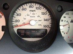 03 Acura TL-sport ODOMETER end
