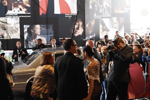 Van Damme mobbed at Cannes Film Festival 2010