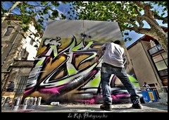 Revok  .. Msk (Le***Refs *PHOTOGRAPHIE*) Tags: streetart art graffiti losangeles nikon montana tag spray crew writers hiphop msk nimes revok d90 mywinners 1024mm lerefs
