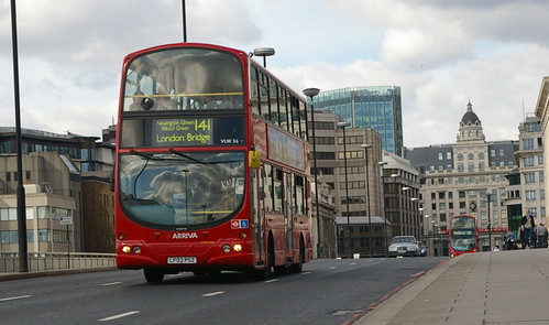 Doubledecker at London Bridge