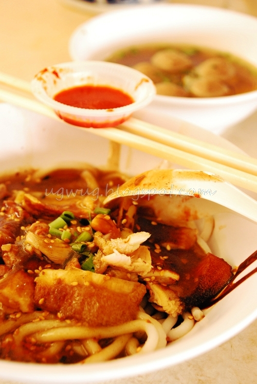 Beef Noodles - Tripe and Beef Balls