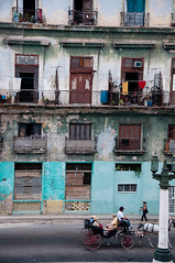 Cuba-0179 (estellebaylis) Tags: houses windows lines havana cuba flats balconies washing dilapidated