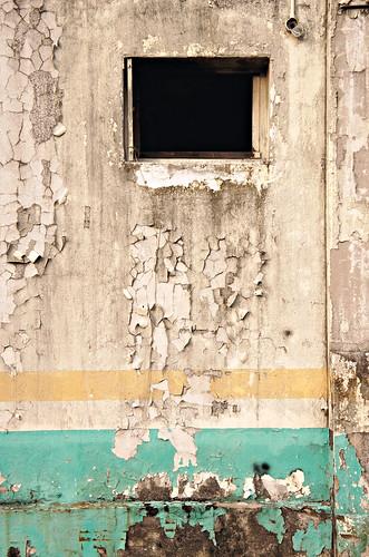 Exterior wall, Old Kallang Airport