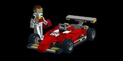 Ferrari 126 C2 - Gilles Villeneuve - 1982