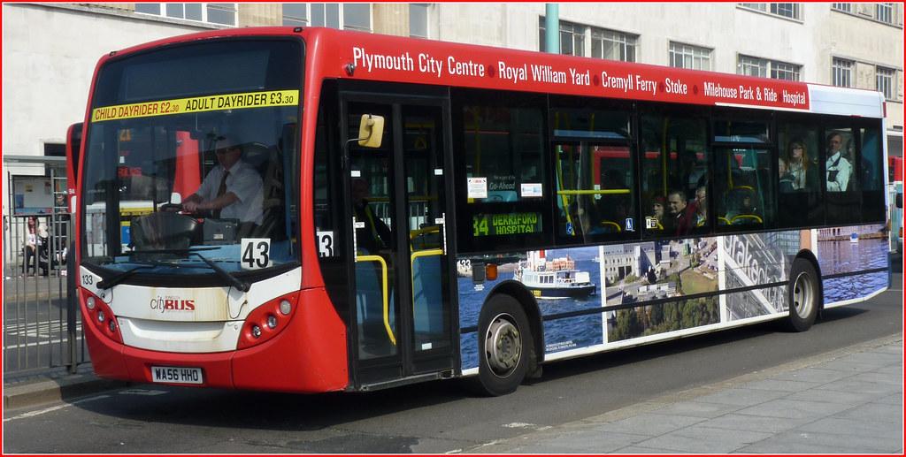 Plymouth Citybus 133 WA56HHO