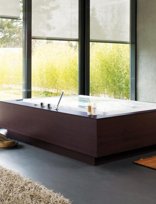 bañera vistas
