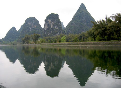 Li River Reflection