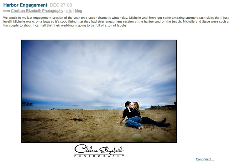Ventura Beach Engagement Session