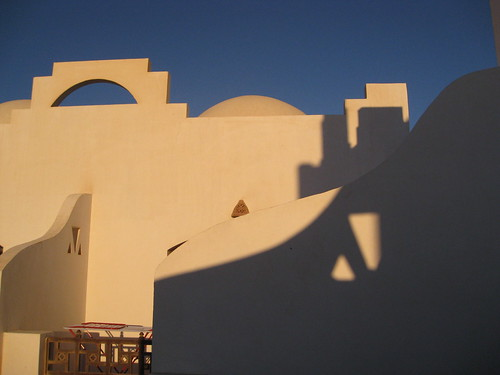 Sunrise at the hotel in Dahab