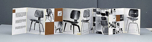 Eames chairs brochure, 1946
