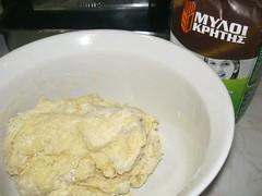 making cretan pastry