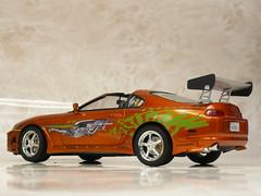 t_supra052 (tanayan) Tags: scale car japan lumix miniature model fast panasonic plastic toyota kit furious modelcar supra 125 miniture amt  ertl   dmcfx100 kitplastic