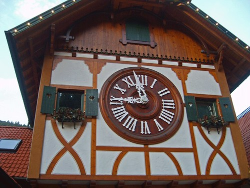 World's Biggest Cuckoo Clock, Schonach near Triberg, Germany by Strabanephotos.