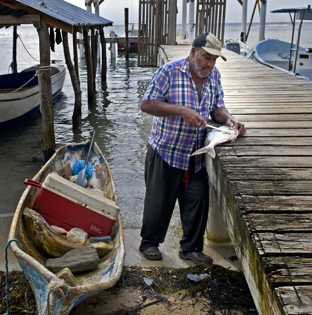 Roatan Fisherman