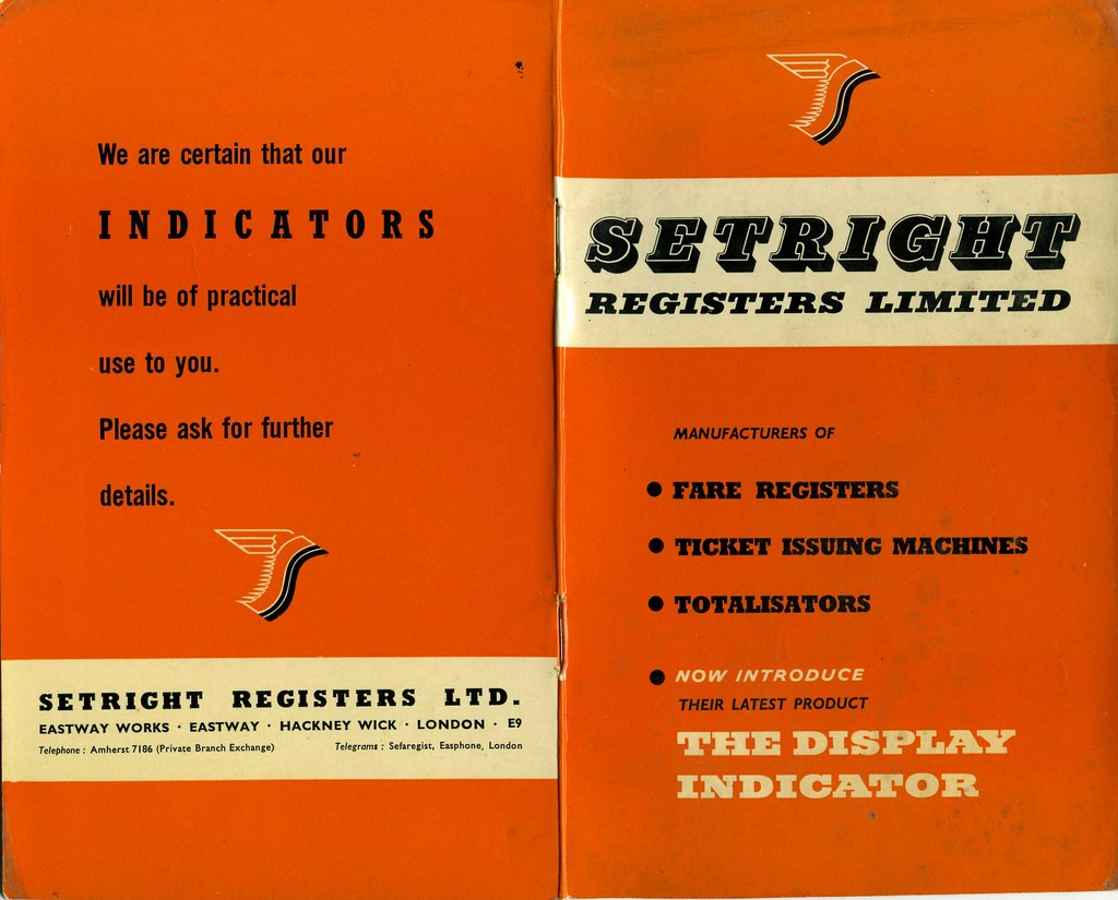 Setright Registers, Hackney Wick. Brochure 1950s? (by sludgegulper)