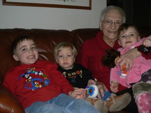 Mimi and her great grandkids
