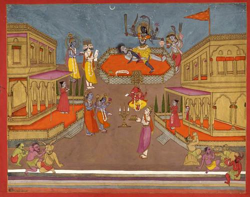 017- Pintura india siglos XVIII- XIX
