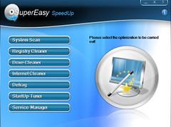 SuperEasy SpeedUp v. |כלי לניקוי וסריקה מלאה של הדיסק הקשיח