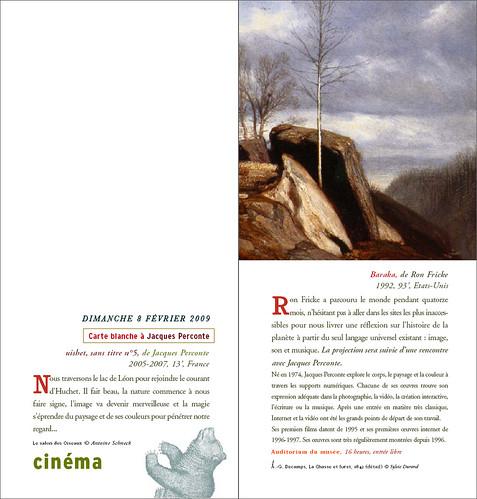 Jacques Perconte, carte blanche