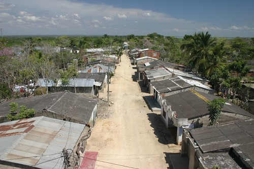 Rural settlement at the Canal del Dique - Colombia.